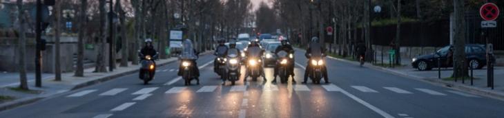 La circulation des deux-roues immatriculés avant juillet 2004 est désormais restreinte à Paris