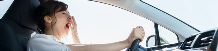 conducteurs fatigués salive