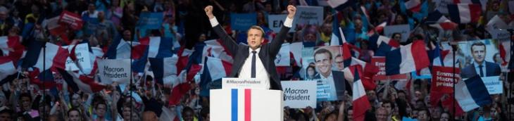 DS7 voiture Macron