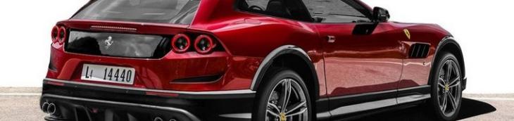 Ferrari voiture familiale 4 places