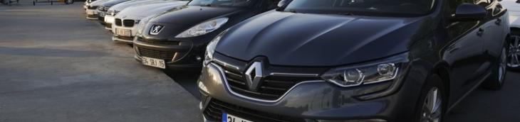 Immatriculations voitures français tête