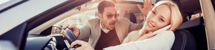 Journées Sécurité routière travail mauvaises habitudes volant