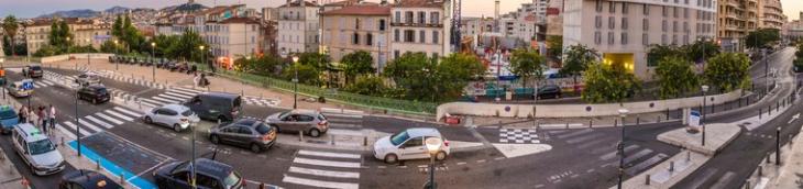 Marseille veut limiter la circulation des voitures en centre-ville