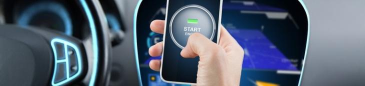 Une norme va être établie pour le démarrage de la voiture via un Smartphone