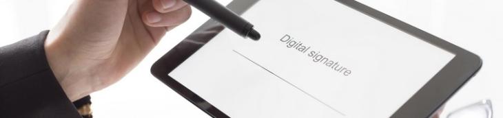 Le nouveau système de signature numérique « Edisignature » est disponible