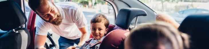 Les parents au volant sont prévoyants en France