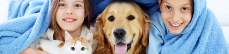 La présence d'un animal de compagnie est bénéfique pour un bébé… et inversement