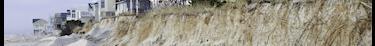L'érosion du littoral obligera les habitants à se déplacer un peu plus dans les terres
