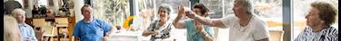 La joie des pensionnaires d'un Ehpad à Angoulême pour avoir rencontré la ponette Sioux