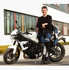 Moto étudiant