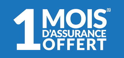 Un mois d'assurance auto offert par Lecomparateurassurance.com