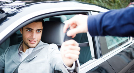 Assurance pour un véhicule de prêt