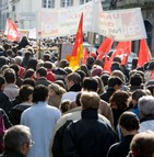 Manifestations contre le décret instaurant l'ANI en Alsace-Moselle