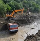 coulée de boue, inondation et glissement de terrain
