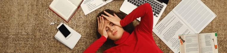Les étudiants sont de plus en plus sujets à diverses formes de nervosité