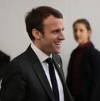 Macron et Rihanna - visite