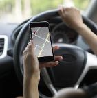 écrans au volant automobile