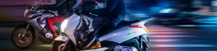 Les motards français ont été sensibilisés au port du gilet gonflable pour éviter les accidents mortels