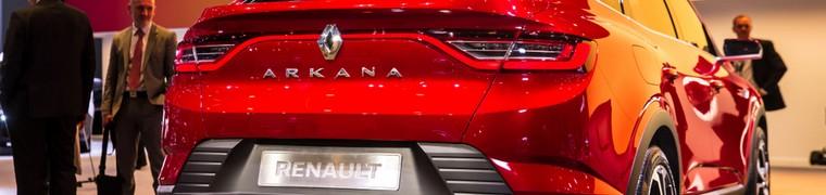 Le nouveau SUV Arkana de Renault fait sa première apparition à Moscou