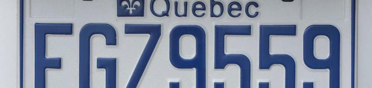 Possibilité de personnaliser ses plaques d'immatriculation au Québec, les utilisateurs dénoncent une « taxe déguisée »