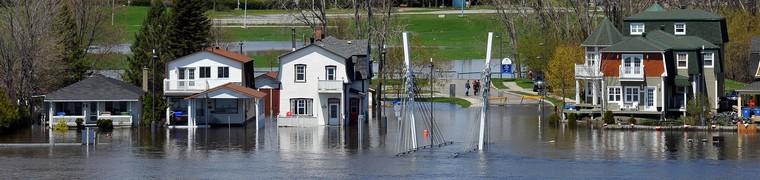 Les primes d'assurance habitation ont augmenté au Canada après les inondations printanières