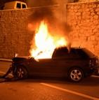 Quelques centaines de voitures ont été brûlées lors de la fête nationale en France