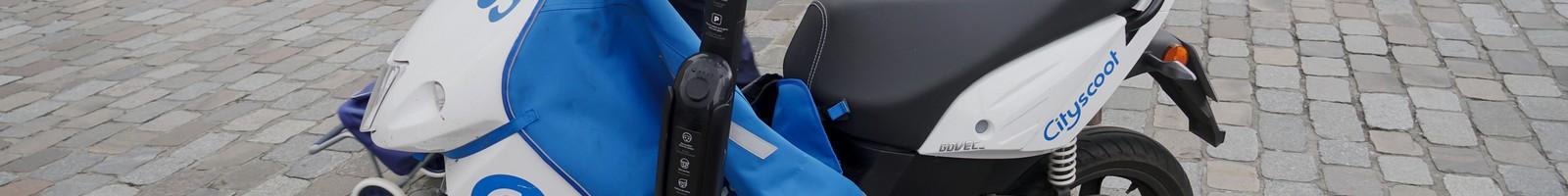 Les scooters en libre-service de Cityscoot ont du succès