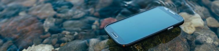 Environnement smartphone dégâts