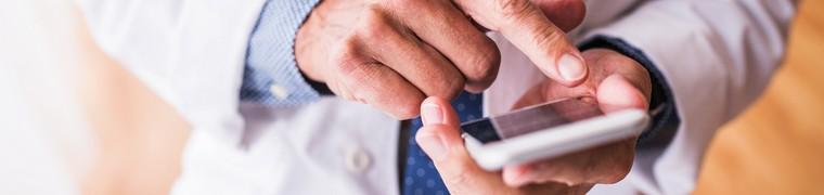 Les téléphones mobiles des professionnels de santé représentent un danger pour les patients