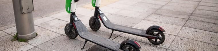 Trottinette électrique : les conducteurs ont intérêt à être assurés