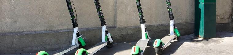 Les trottinettes ne peuvent plus stationner sur les trottoirs à Paris
